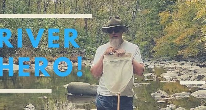 WILD VIRGINIA'S CONSERVATION DIRECTOR DAVID SLIGH WINS RIVER HERO AWARD