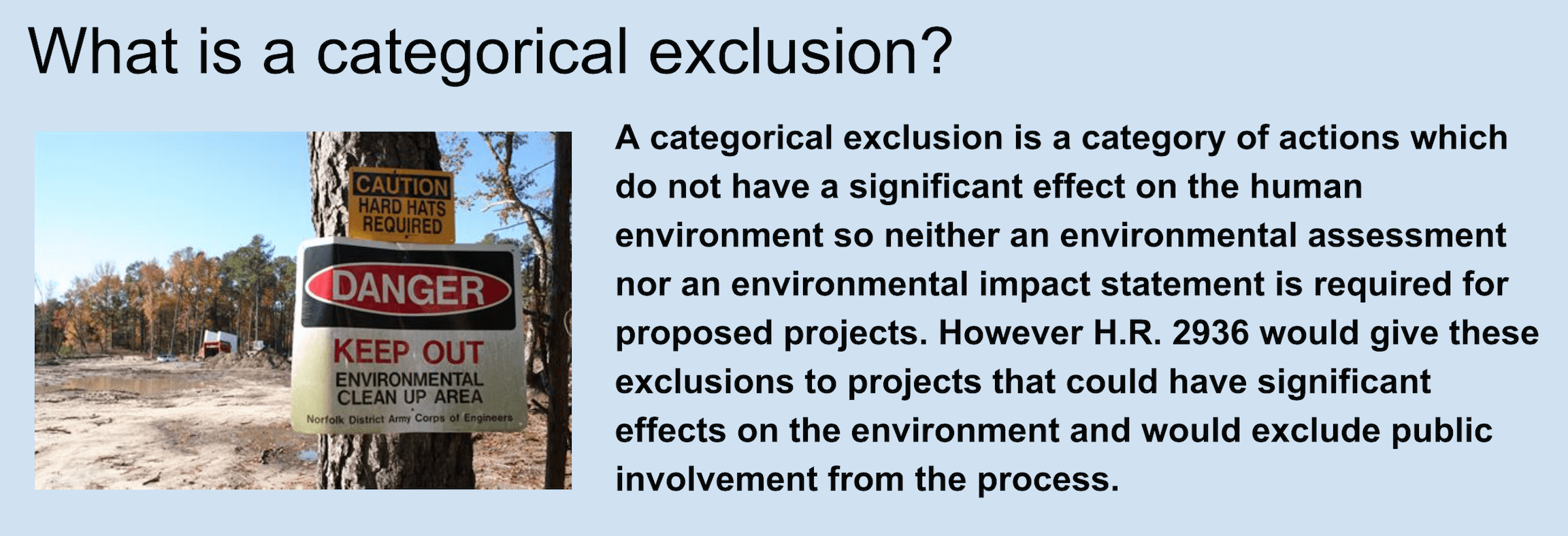categorical-exclusion