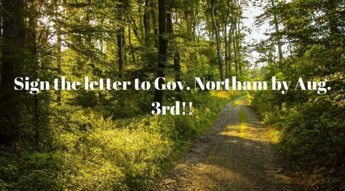 Tell Governor Northam NO MORE Fossil Fuel Projects in Virginia!